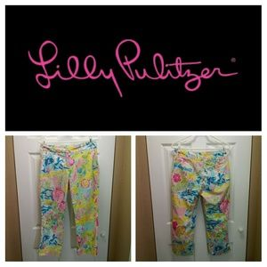 Lilly Pulitzer Rare 2004 Lillywood Print C…